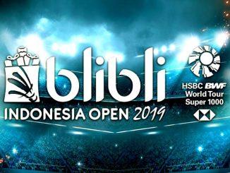 ดูแบดสด อินโดนีเซียโอเพ่น 2019